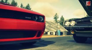 DRAG $59,995 2015 Dodge Challenger SRT Hellcat vs 1971 Dodge Challenger R/T 426 Hemi Shaker