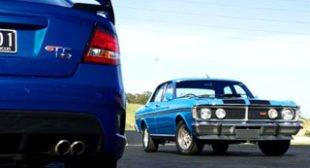 Legends: FPV GT F v Ford Falcon XY GT