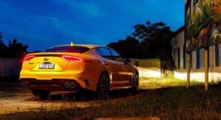 Kia Stinger suffers yellow paint defects, Kia admits
