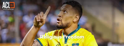 Australian Christian Lobby throws $100,000 into new Folau fund